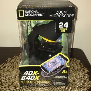 NEW NatGeo Zoom Microscope